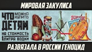 Владимир Жданов. «Мировая закулиса развязала в России алкогольный геноцид»